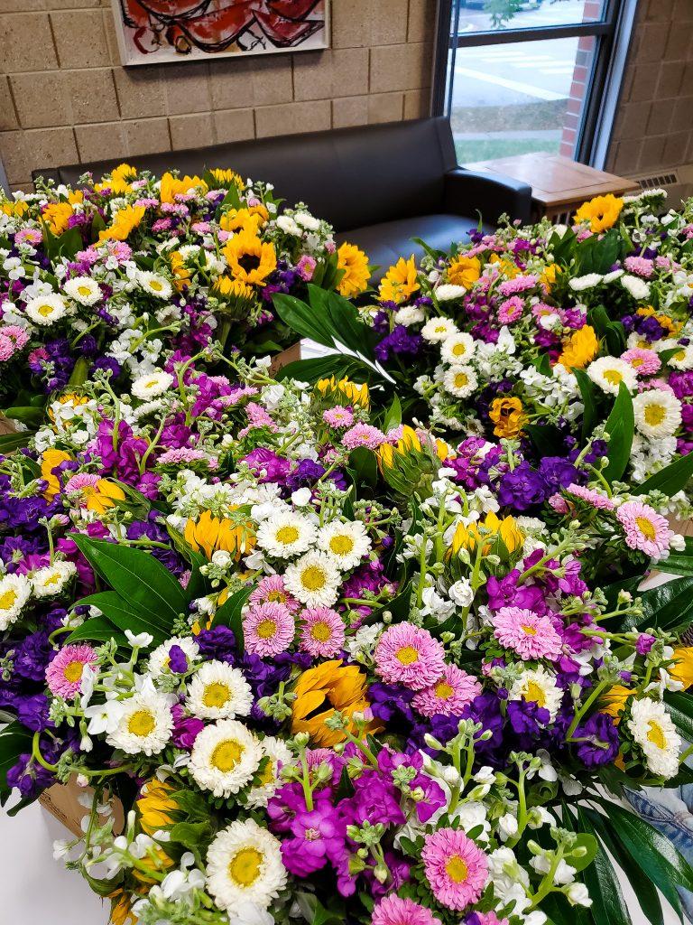 H.O.M.E. Flower Donation from Ashland Addison Florist