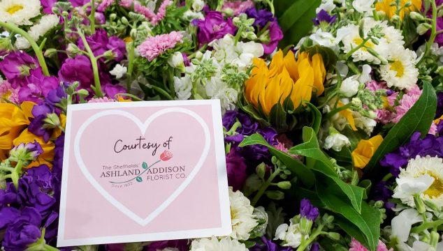 Ashland Addison Florist Donation to H.O.M.E.