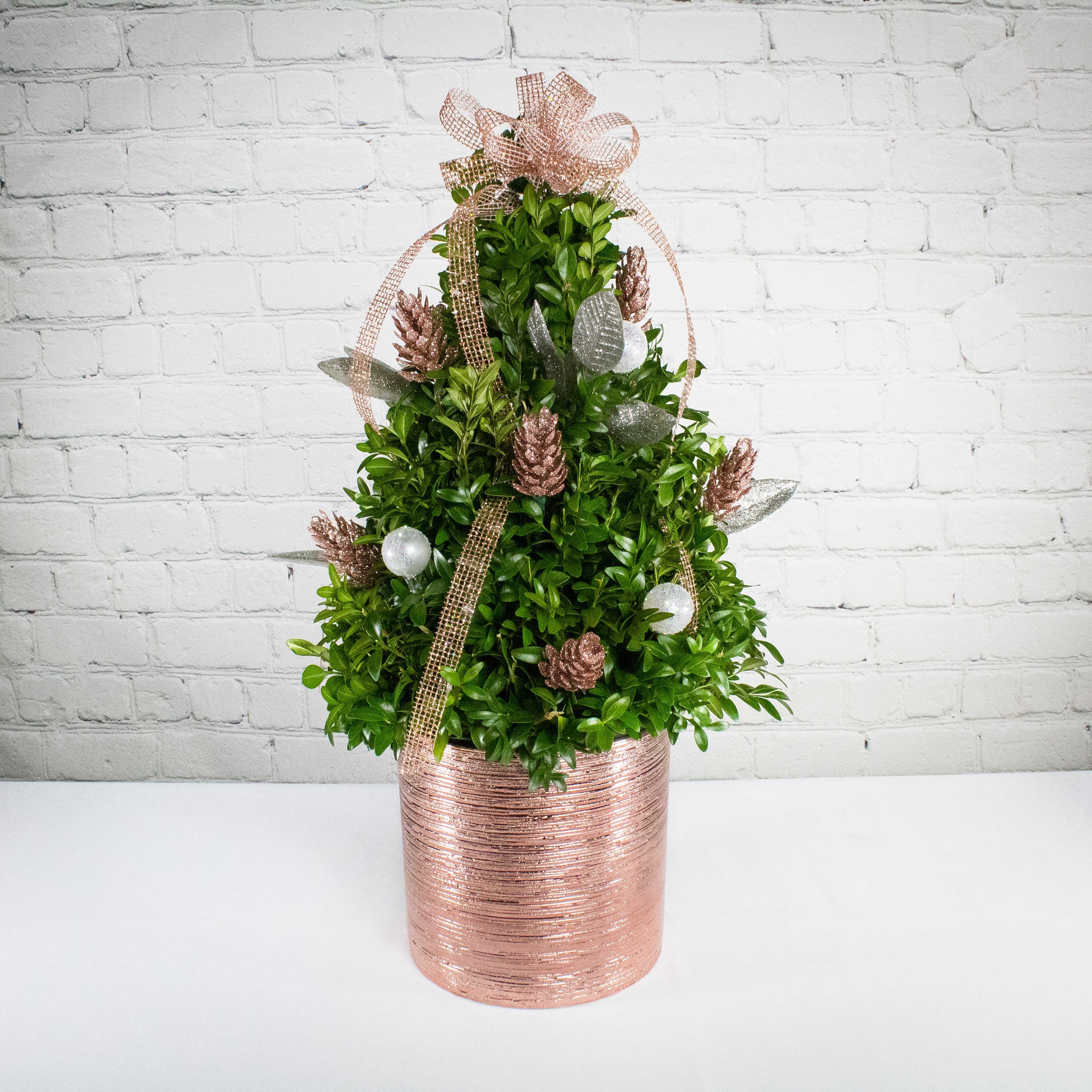Rose Gold Mini Tree Ashland Addison Florist Co