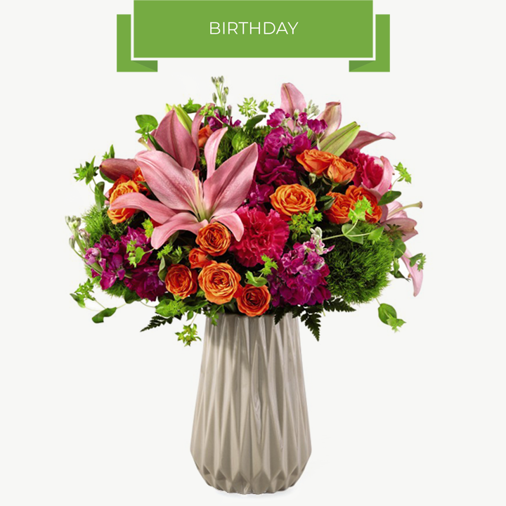 Birthday Flower Gifts Chicago