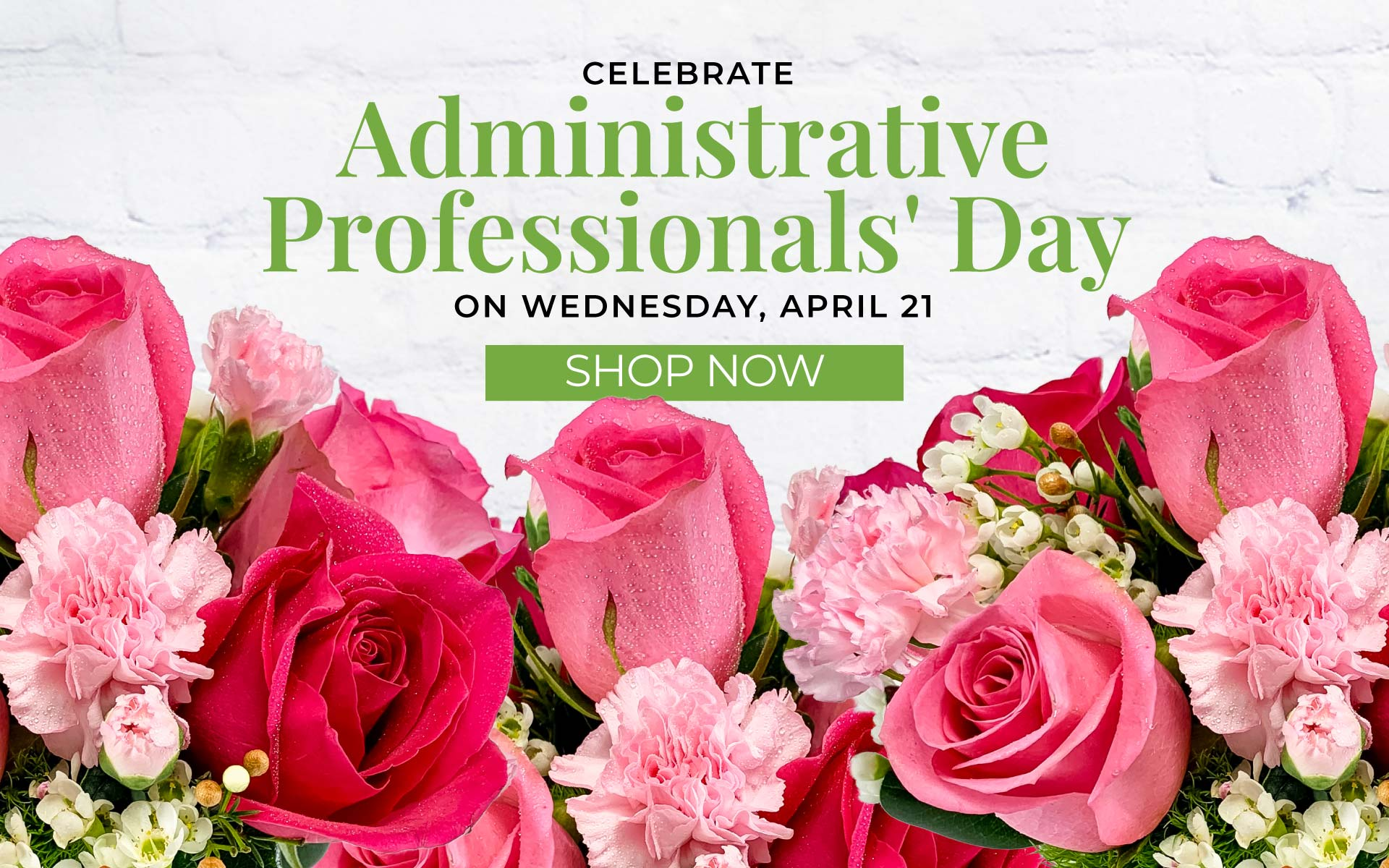 Shop our Admin's Day Flowers and gifts available in Chicago