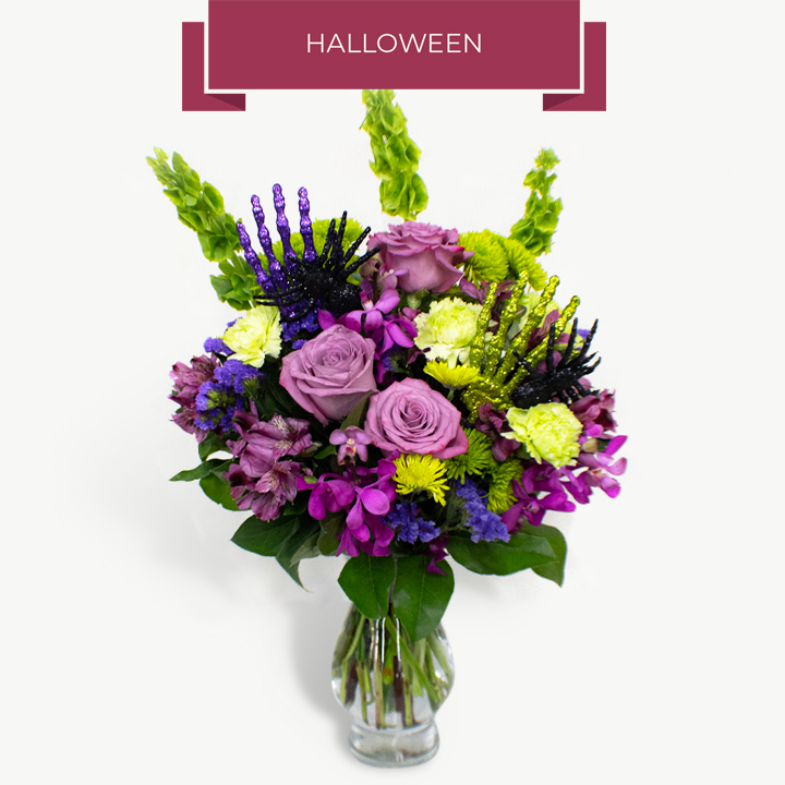 Halloween Flowers Chicago