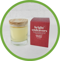 Bright Endeavors Candle - Holiday Citrus
