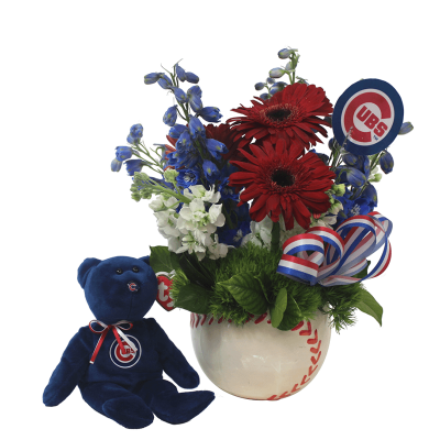GO CUBS GO! ARRANGEMENT WITH CUBS BEAR