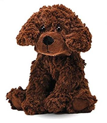 Small Brown Dog Plush