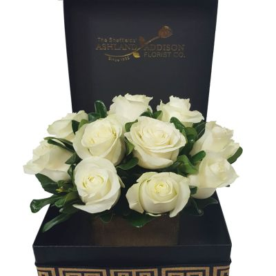 Signature Rose Box - White