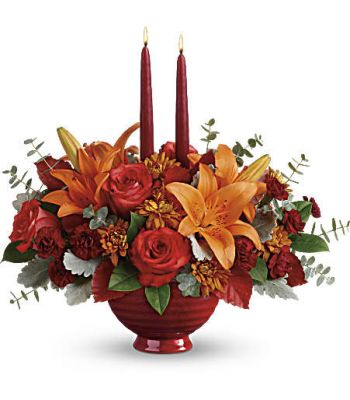 TEL Autumn in Bloom Centerpiece