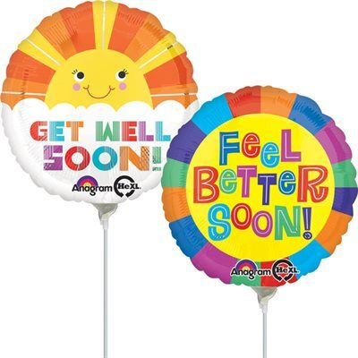 Get Well Soon Air-Filled Balloon