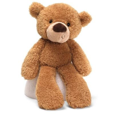 Beige Fuzzy Bear by GUND