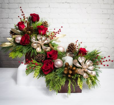 Upgraded Woodland Berry Centerpiece