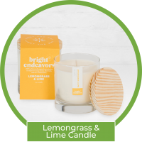 Bright Endeavors Candle - Lemongrass & Lime