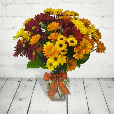 Bouquet of the Month: Fall Daisies