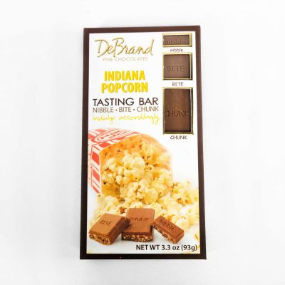 Indiana Popcorn Chocolate Bar by DeBrand
