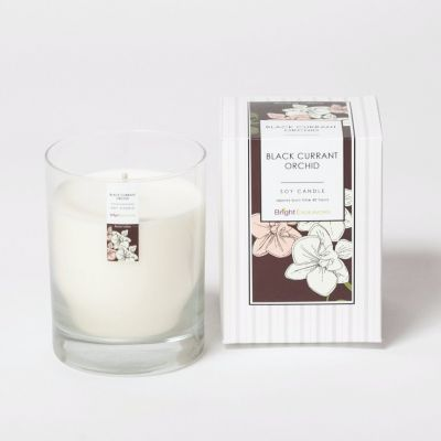 Black Currant Orchid Candle