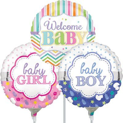 Baby Girl Air-Filled Balloon