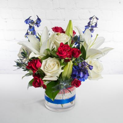 Red, White, & Blue Bouquet