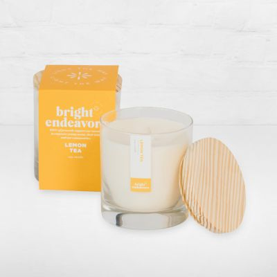 Bright Endeavors Candle - Lemon-Tea