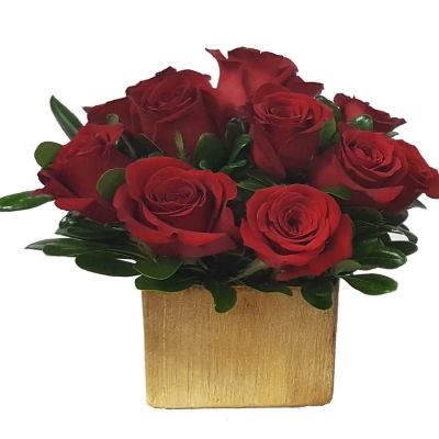 Signature Rose Box - Red