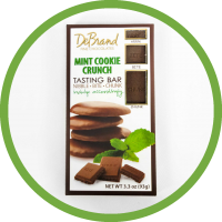 Mint Cookie Crunch Chocolate Bar by DeBrand
