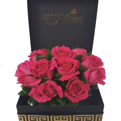 Signature Rose Box - Hot Pink