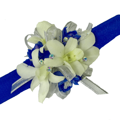 Orchid Sapphire Corsage