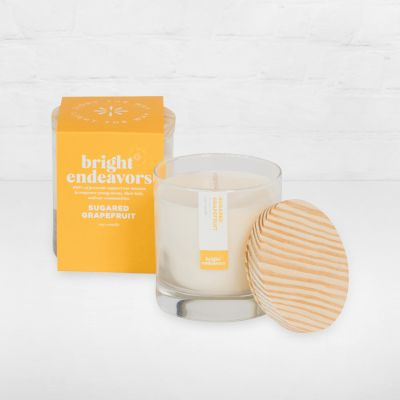 Bright Endeavors Candle - Sugared Grapefruit