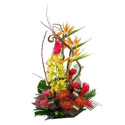 Tropical Arrangement in a Tray
