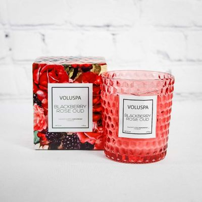 Voluspa Candle - Blackberry Rose Oud