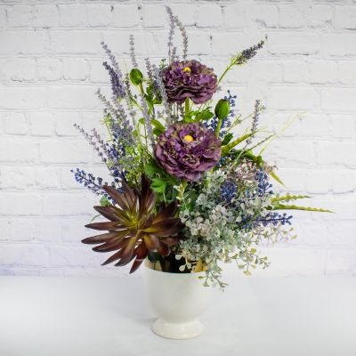 Misty Lavender - Faux Bouquet