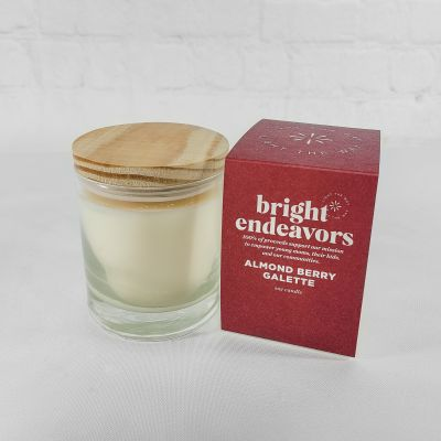 Bright Endeavors Candle - Almond Berry